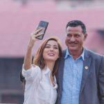 बाबा स्वास्थ्यमन्त्री बनेकोमा पुर्ब मिस नेपाल श्रृंखला खतिवडा खुशी