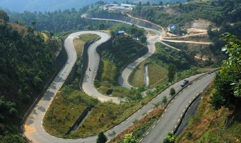 वीपी राजमार्ग दुई लेनमा बिस्तार गर्न माग