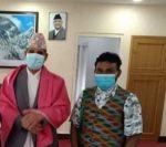 नेपाली जनता दलका प्रतिनिधि र बन मन्त्रीबिच भेटबार्ता