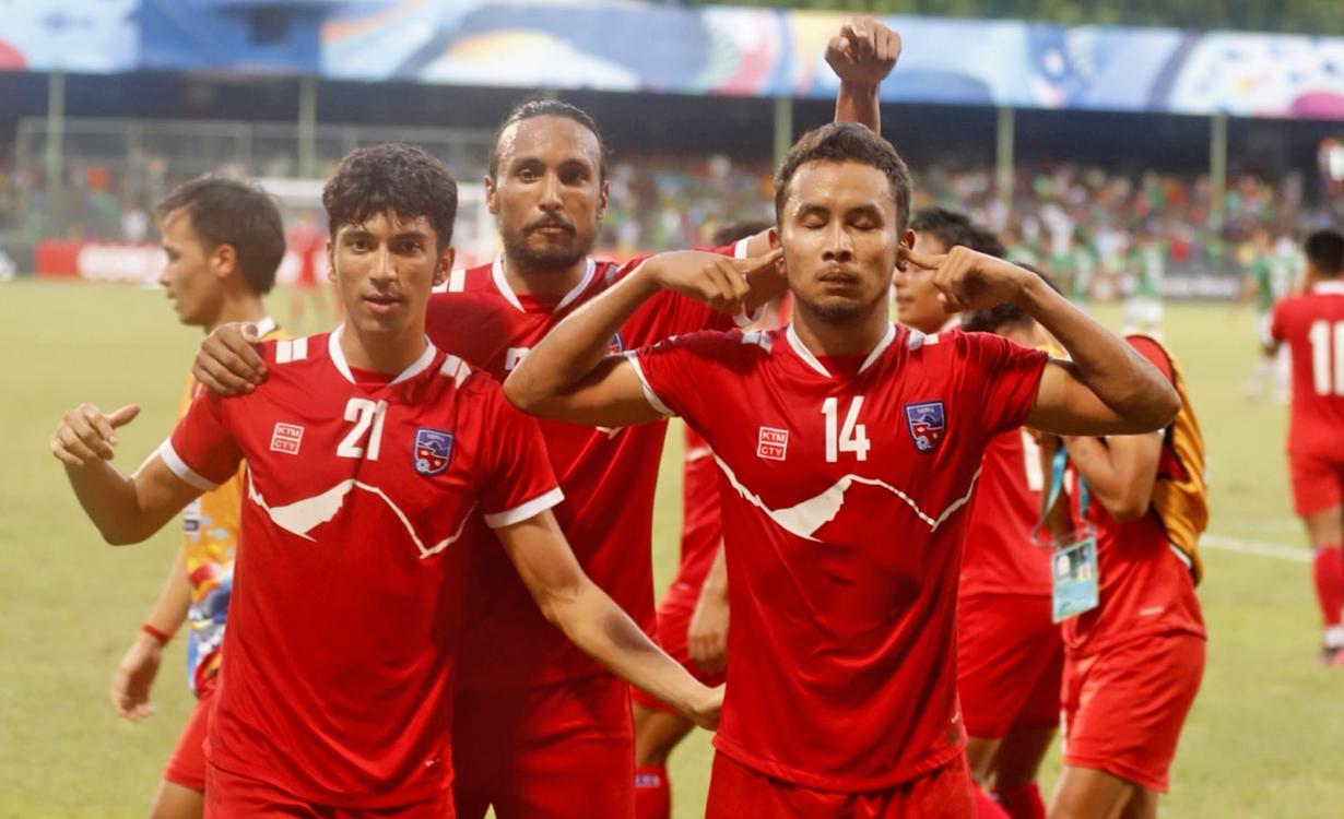 नेपाल साफ च्याम्पियनसिपको फाइनलमा